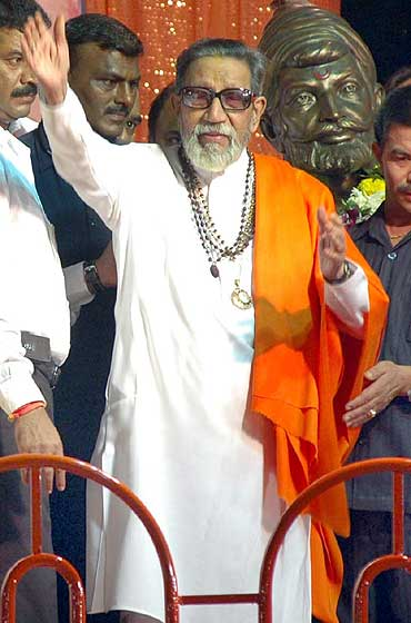 Shiv Sena chief Balasaheb Thackeray's newspaper Saamna, in an editorial, had called for a ban on burqas