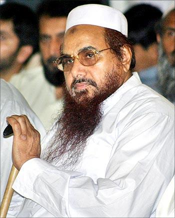 Hafiz Mohammed Saeed, head of Jamaat-ud-Dawa, patron of the Lashkar-e-Tayiba