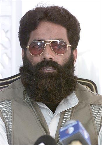 Ilyas Kashmiri, leader of Harkat-ul-Jehad Islami