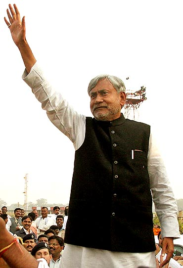 Bihar Chief Minister Nitish Kumar