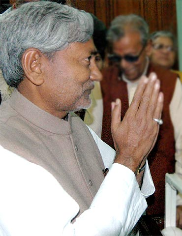How Nitish Kumar is wooing voters in Bihar