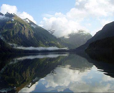 The Blue Lake Reservoir in Sitka, Alaska