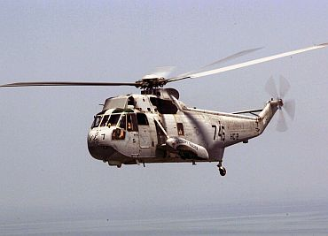 File photo of the UH3H helicopter
