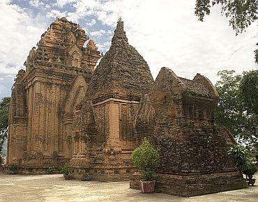 Po Nagar, built by the Champa near modern-day Nha Trang