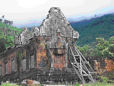 Wat Pu temple in Champaksang province of Laos dates back to 8th century