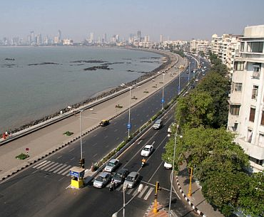 A walk down Marine Drive