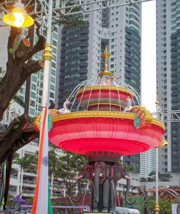 Dr Singh unveils 'Little India' in Kuala Lumpur
