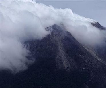When Indonesia's Fire Mountain erupted