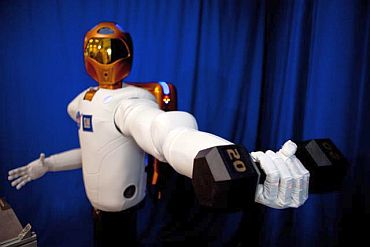 Robonaut, the humanoid robot