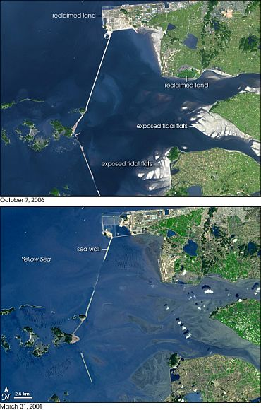 NASA image shows how the South Korean plan went haywire