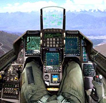 The F-16N is an advanced version the F-16