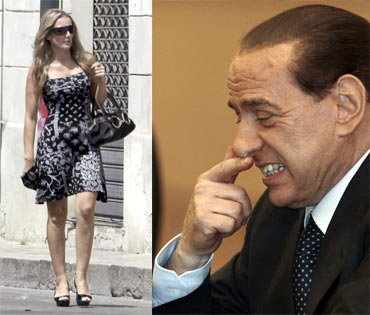 Italian Prime Minister Silvio Berlusconi allegedly had a one night stand with prostitute Patrizia