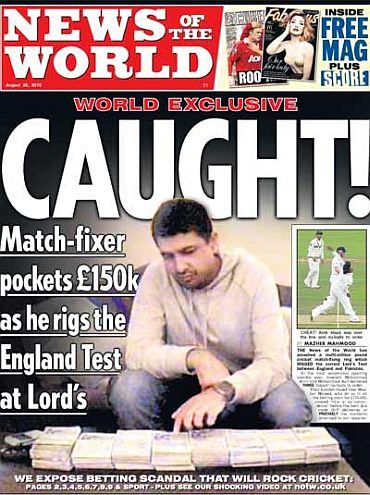 The News of the World edition that shook the cricketing world once again