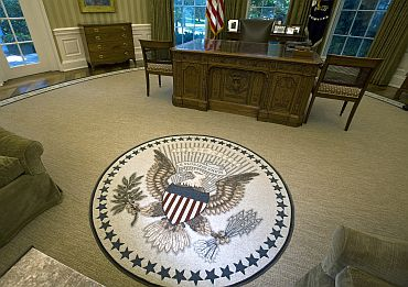 White House Blunder Over New Oval Office Rug Quote