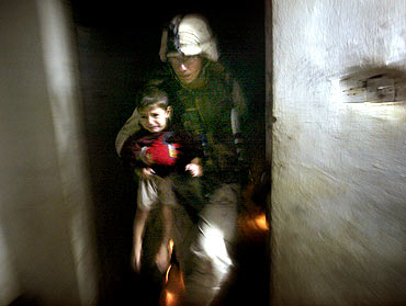 Shocking Images of Innocence Lost in Iraq War