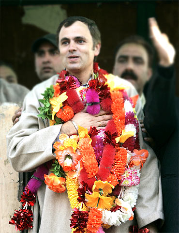 Omar Abdullah, 40, Chief Minister of Jammu and Kashmir