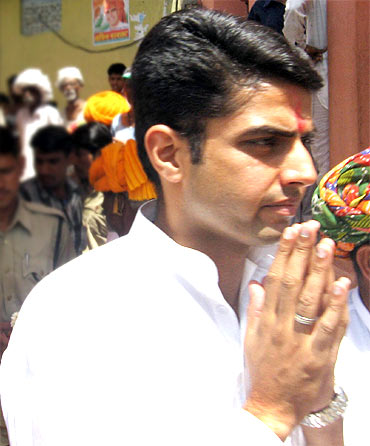 Sachin Pilot, 33, Minister of State for Communications and IT