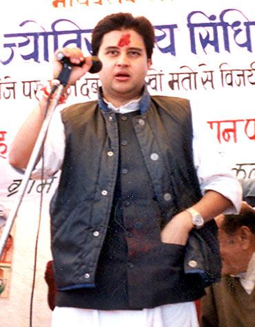 Jyotiraditya Scindia, 39, Lok Sabha MP