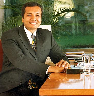 Naveen Jindal, 40, Lok Sabha MP