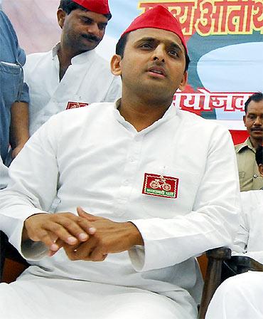 Akhilesh Yadav, 37, Lok Sabha MP