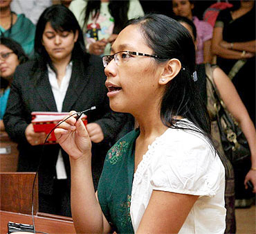Agatha Sangma, 30, Lok Sabha MP