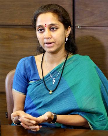 Supriya Sule, 41, Lok Sabha MP