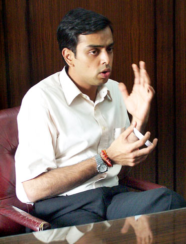 Milind Deora, 34, Lok Sabha MP