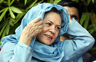 Sonia has shed her formerly taciturn manner