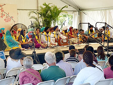 A Sikh Kirtani Jatha at the Smithsonian festival