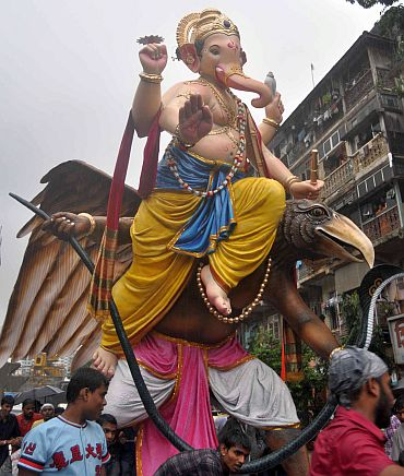 The 12-day long Ganesh festival has begun in Mumbai
