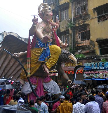 The Chandanwadi Ganpati