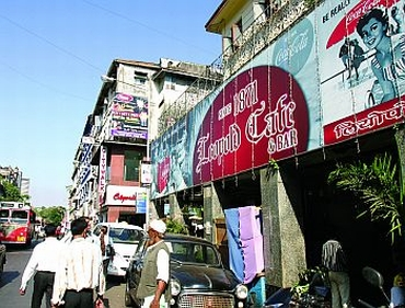Leopold Cafe, which was attacked on the night of 26/11