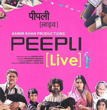 Peepli Live! tells the story of a defeated farmer and a hysterical media in pursuit of a newsbreak
