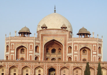 Humayun's tomb in New Delhi, where Bahdaur Shah Zafar took refuge when Delhi fell