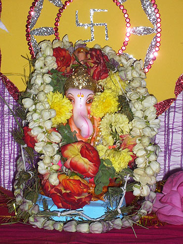 Readers' Ganpati pics: From Guinea to Goa