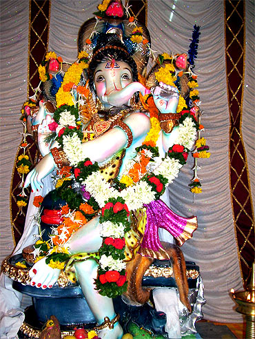 Readers' Ganpati pics
