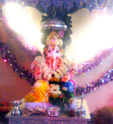 Readers' Ganpati pics: From Californ