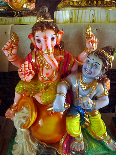 Readers' Ganpati pics: From California to Pune