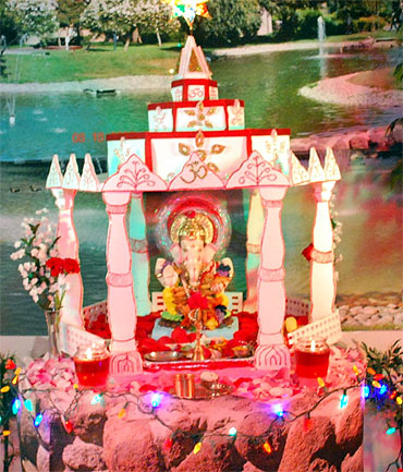 Readers' Ganpati pics