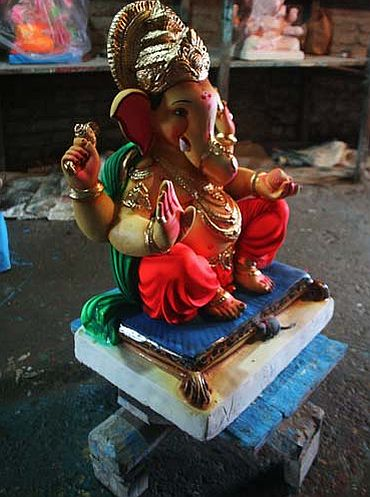 Why the Kadams opt for a PoP Ganesha
