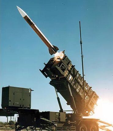 Patriot missile defence system