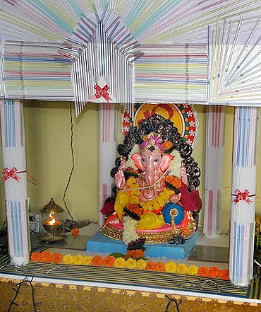 Readers' Ganpati pics: From London to Dadar