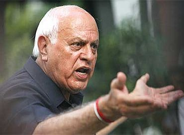File photo of NC chief Farooq Abdullah