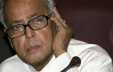 File photo of Finance Minister Pranab