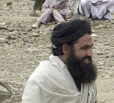 File photo of Pakistani Taliban chief Baitullah Mehsud