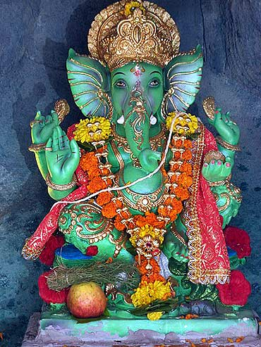 Readers' Ganpati pics: From Vikhroli to Washington