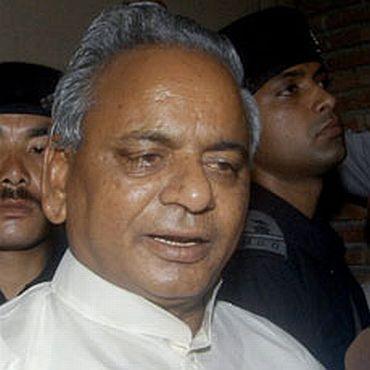 Kalyan Singh, then Uttar Pradesh chief minister