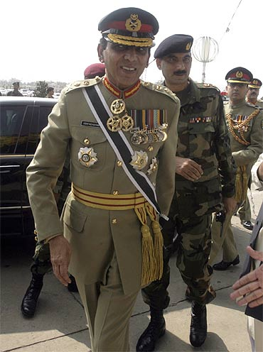 Pakistan army chief General Ashfaq Kayani