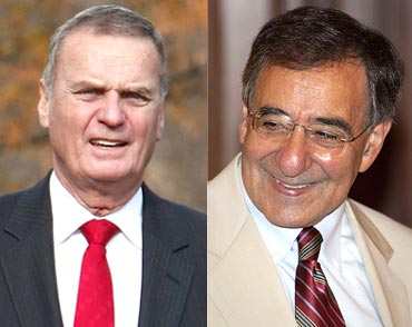 National Security Advisor James Jones and Central Intelligence Agency director Leon Panetta