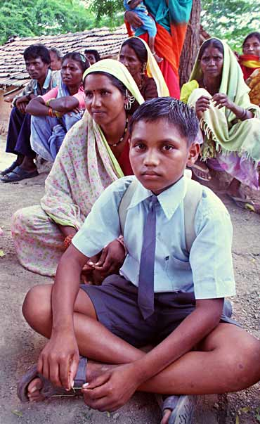 Vishal Namdev Pawar, the young schoolboy from Tembhali